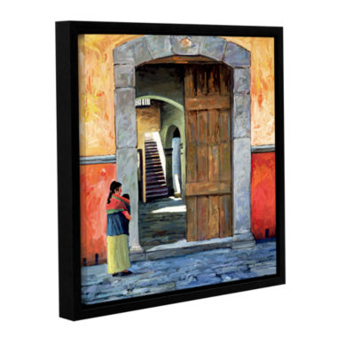 Brushstone Guanajuato Door Gallery Wrapped Floater-Framed Canvas Wall Art