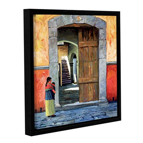 Brushstone Guanajuato Door Gallery Wrapped Floater-Framed Canvas Wall Art