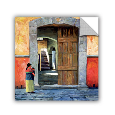 Brushstone Guanajuato Door Removable Wall Decal