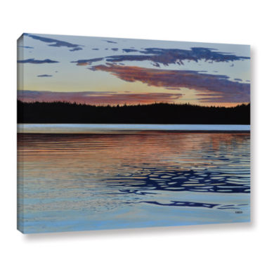 Brushstone Graham Lake Gallery Wrapped Canvas WallArt