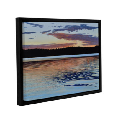 Brushstone Graham Lake Gallery Wrapped Floater-Framed Canvas Wall Art