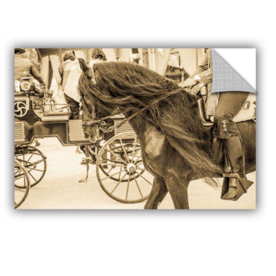 Brushstone Horse And Buggy Removable Wall Decal