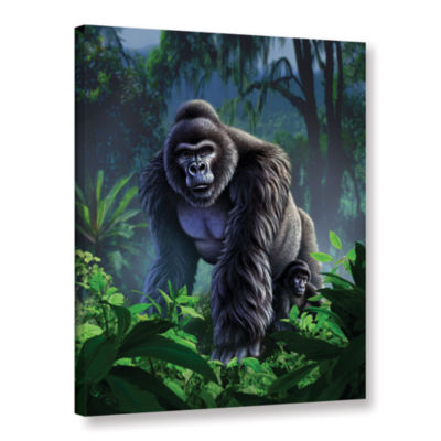 Brushstone Guardian Gallery Wrapped Canvas Wall Art