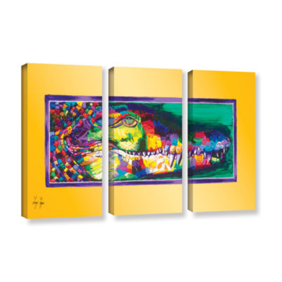 Brushstone Gustave 3-pc. Gallery Wrapped Canvas Wall Art