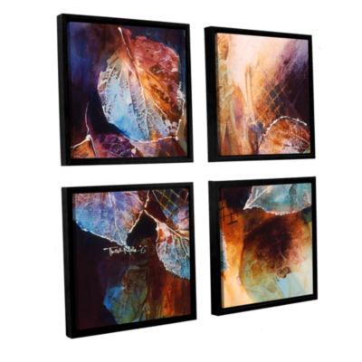 Brushstone Harmony 4-pc. Square Floater Framed Canvas Wall Art