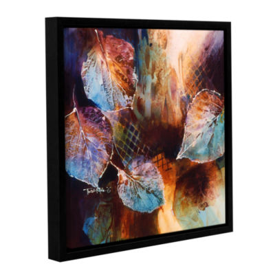 Brushstone Harmony Gallery Wrapped Floater-FramedCanvas Wall Art
