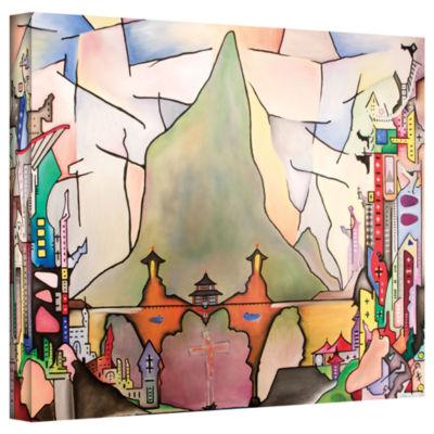 Brushstone Hong Carlo Gallery Wrapped Canvas WallArt