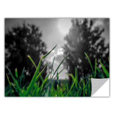 Brushstone Grass Removable Wall Decal
