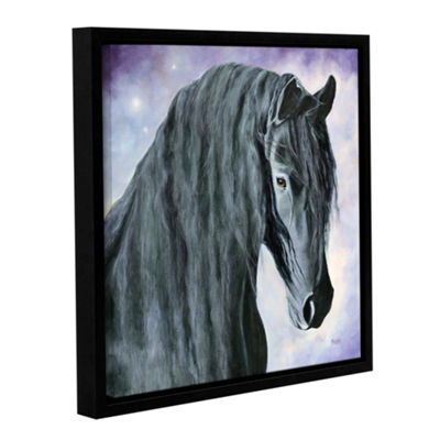 Brushstone Hassel The Gentle Giant Gallery WrappedFloater-Framed Canvas Wall Art
