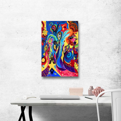 Brushstone Healing Angel I Gallery Wrapped CanvasWall Art