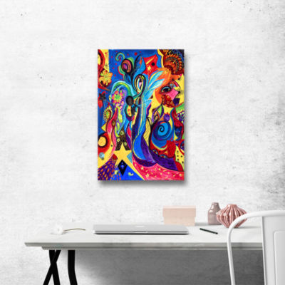 Brushstone Healing Angel I Gallery Wrapped CanvasWall Art