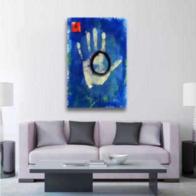 Brushstone Health Hand Gallery Wrapped Canvas WallArt