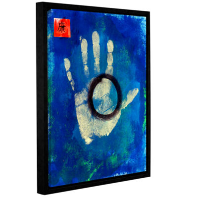 Brushstone Health Hand Gallery Wrapped Floater-Framed Canvas Wall Art
