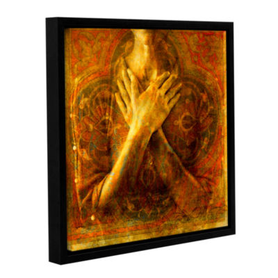 Brushstone Honor Self Gallery Wrapped Floater-Framed Canvas Wall Art
