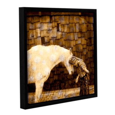Brushstone Horse Whisperer Gallery Wrapped Floater-Framed Canvas Wall Art