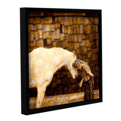 Brushstone Horse Whisperer Gallery Wrapped Floater-Framed Canvas Wall Art