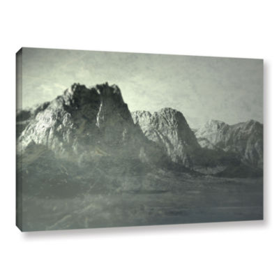 Brushstone Habits I Gallery Wrapped Canvas Wall Art