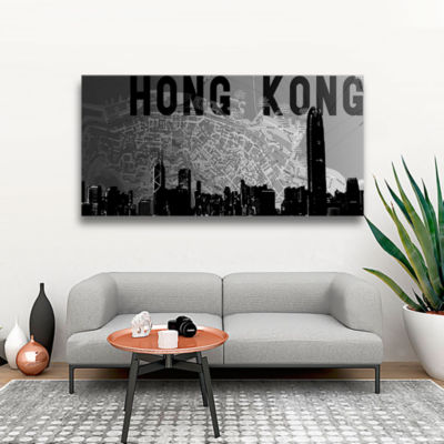 Brushstone Hong Kong Gallery Wrapped Canvas Wall Art