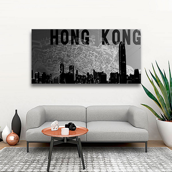 Brushstone Hong Kong Gallery Wrapped Canvas Wall Art