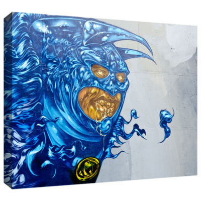 Brushstone Graff4 Gallery Wrapped Canvas Wall Art