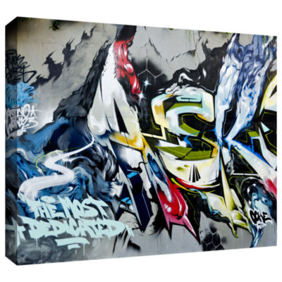 Brushstone Graff9 Gallery Wrapped Canvas Wall Art
