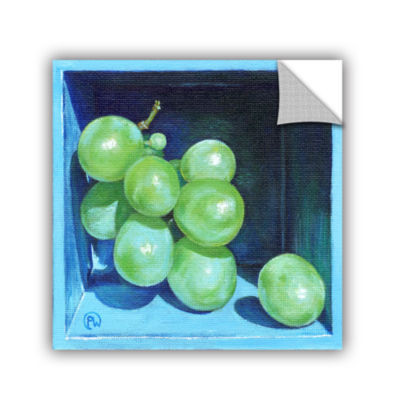 Brushstone Green Grapes Removable Wall Decal