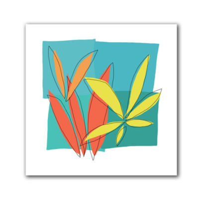 Brushstone Grasses I Canvas Wall Art