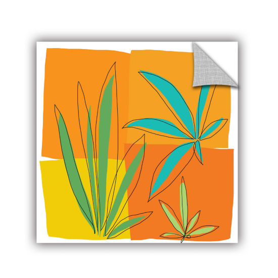 Brushstone Grasses II Removable Wall Decal