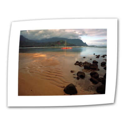 Brushstone Hanalei Bay At Dawn Canvas Wall Art