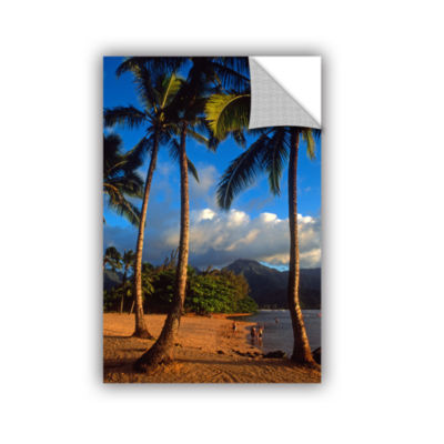 Brushstone Hanalei Bay Palms Removable Wall Decal