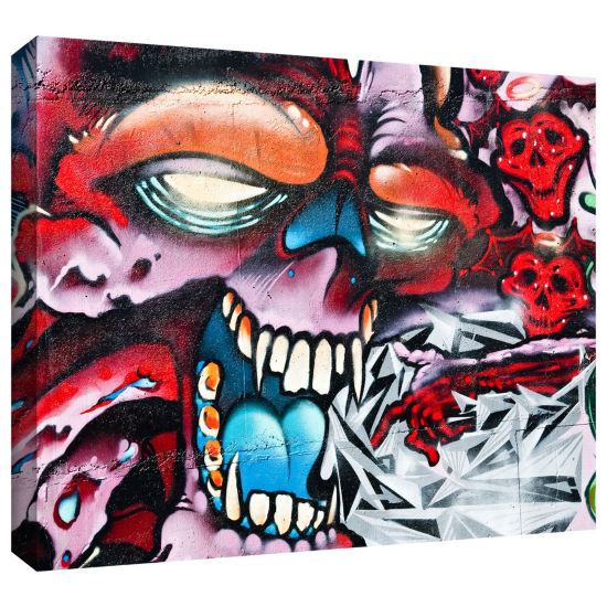 Brushstone Grafit 47 Gallery Wrapped Canvas Wall Art