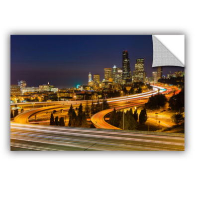 Brushstone Highway To Seattle 2 Removable Wall Decal