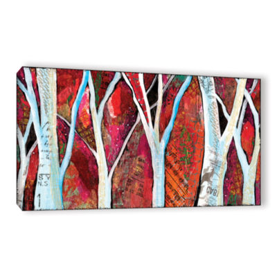 Brushstone Hidden Forest Gallery Wrapped Canvas Wall Art