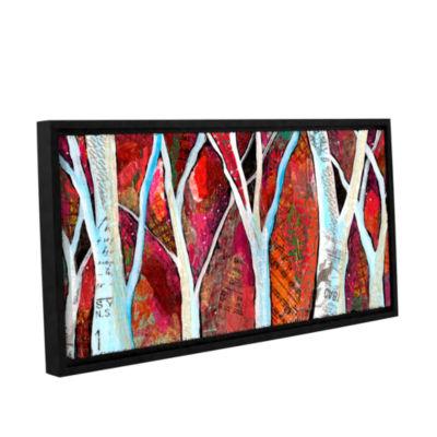 Brushstone Hidden Forest Gallery Wrapped Floater-Framed Canvas Wall Art