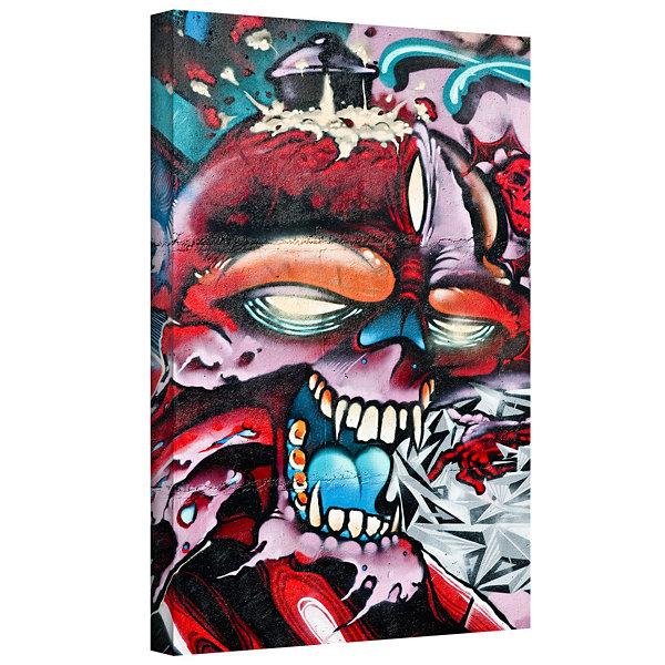 Brushstone Grafit 50 Gallery Wrapped Canvas Wall Art