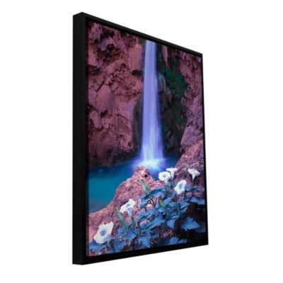 Brushstone Havasu Spring Gallery Wrapped Floater-Framed Canvas Wall Art