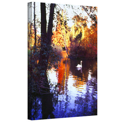Brushstone Hamm Park Gallery Wrapped Canvas Wall Art