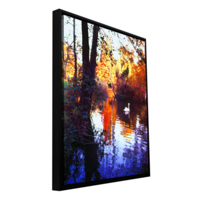 Brushstone Hamm Park Gallery Wrapped Floater-Framed Canvas Wall Art