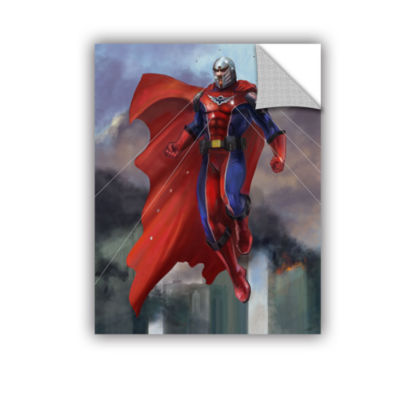 Brushstone Hero Removable Wall Decal