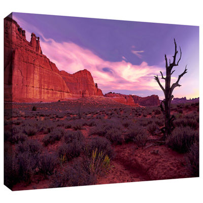 Brushstone High Desert Dawn (Barren Tree) GalleryWrapped Canvas Wall Art