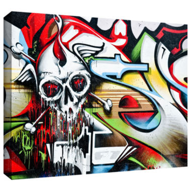 Brushstone Grafit 53 Gallery Wrapped Canvas Wall Art