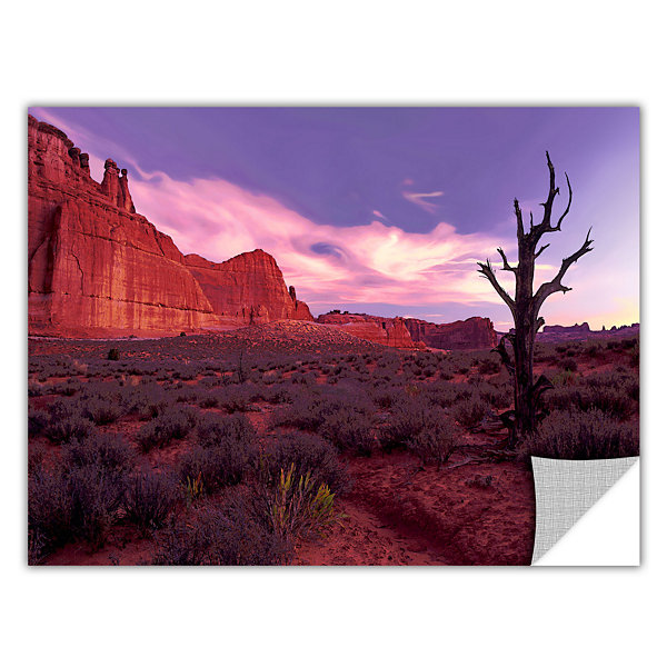 Brushstone High Desert Dawn (Barren Tree) Removable Wall Decal
