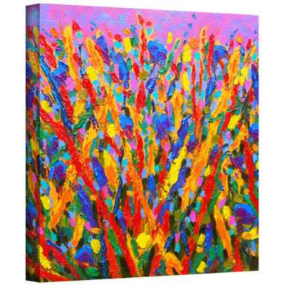 Brushstone Growing Wild Gallery Wrapped Canvas Wall Art