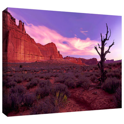 Brushstone High Desert Dawn (Vista) Gallery Wrapped Canvas Wall Art