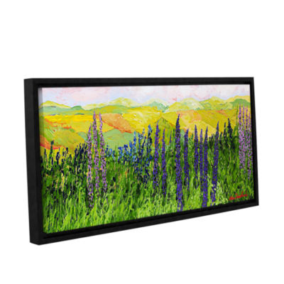 Brushstone Growing Tall Gallery Wrapped Floater-Framed Canvas Wall Art