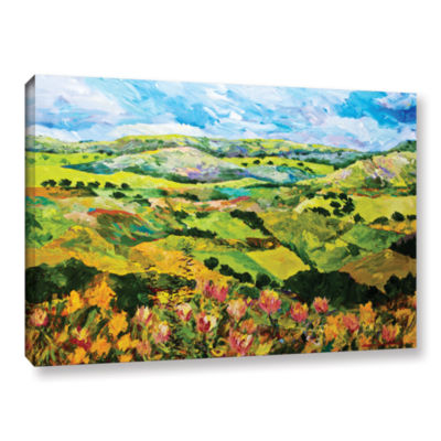 Brushstone Half Way Home Gallery Wrapped Canvas Wall Art