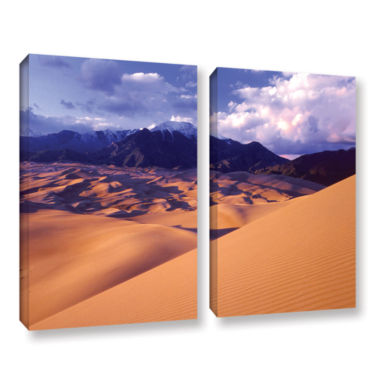Brushstone Great Sand Dunes 2-pc. Gallery WrappedCanvas Wall Art