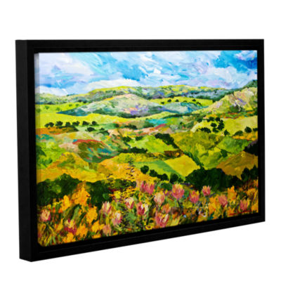 Brushstone Half Way Home Gallery Wrapped Floater-Framed Canvas Wall Art