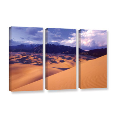Brushstone Great Sand Dunes 3-pc. Gallery WrappedCanvas Wall Art