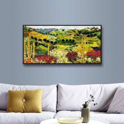 Brushstone Heavenly View Gallery Wrapped Floater-Framed Canvas Wall Art